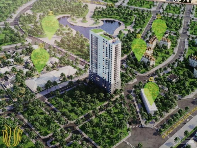 Gia đình cần tài chính bán gấp căn hộ 2 PN căn góc, view hồ công viên Cầu Giấy, chỉ với 3,5 tỷ ảnh 0