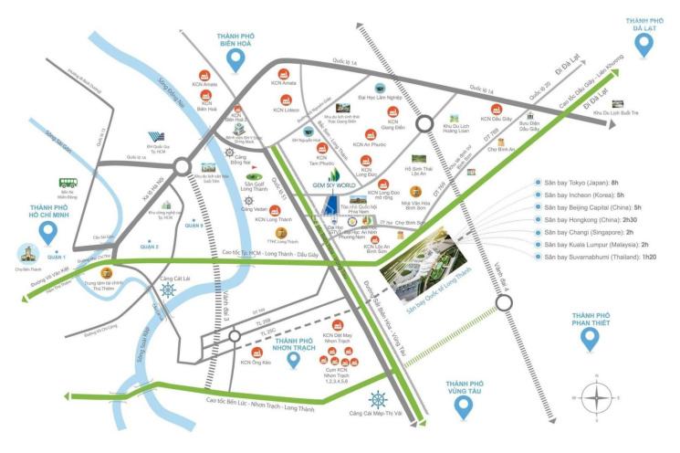 Rổ hàng độc quyềN Gem Sky World - từ  chủ đầu tư đất xanh - Sân Bay Long Thành, 0939439186 ảnh 0