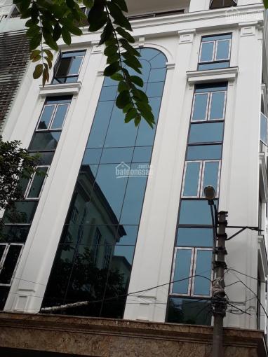 Cho thuê nhà MP Thái Thịnh, lô góc, 150m2 * 7 tầng 1 hầm, thông sàn, giá 180 tr/th, LH 0968120493 ảnh 0