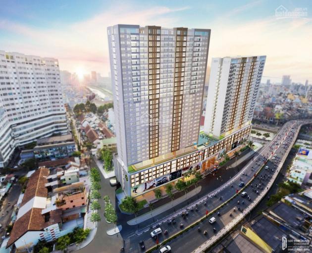 Căn hộ officetel River Gate, Q4 chính chủ bán hoặc cho thuê nội thất mới 100% ảnh 0