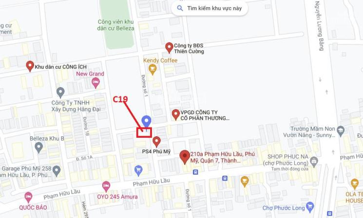 Cho thuê đất mặt tiền đường Số 1, lô góc, KDC Phú Mỹ Chợ Lớn, quận 7, HCM ảnh 0