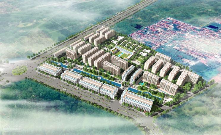 Bán nhà phố shophouse Cát Tường Smart City, khu CN Yên Phong, Bắc Ninh, chỉ 4,8 tỷ/căn ảnh 0