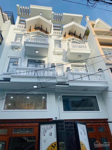 Cho thuê nhà mới xây Lê Văn Thọ, P. 9, Gò Vấp 4x15m 1 lửng 3 lầu, gần công viên Làng Hoa ảnh 0