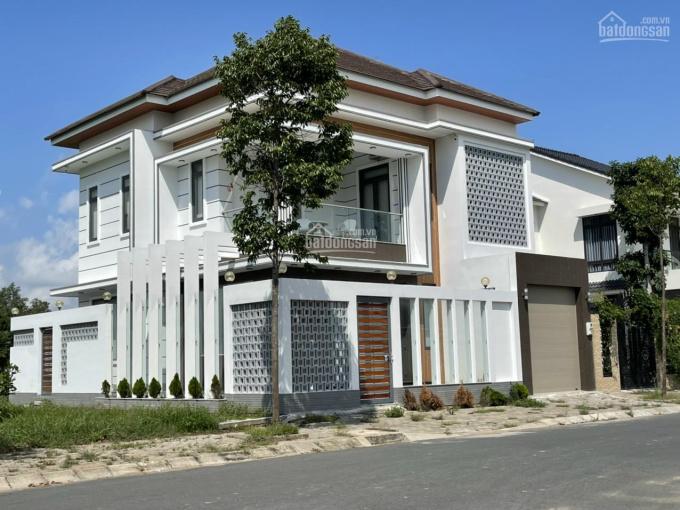 Biệt thự KDC Nam Long - góc 2 mặt tiền - đối diện hồ cảnh quan ảnh 0