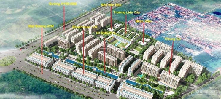 Shophouse 7 tầng - chỉ từ 4,x tỷ - thủ phủ công nghiệp Miền Bắc - sổ đỏ từng lô - chuẩn bị bàn giao ảnh 0