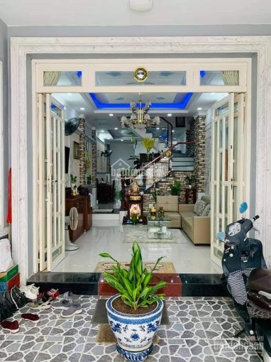 Nhà đẹp Đào Tông Nguyên - Nhà Bè - khu dân cư Sài Gòn Mới nhiều nhà cao tầng đồng bộ ảnh 0