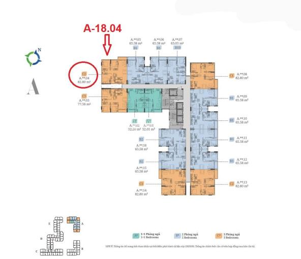 Bán hoàn vốn căn góc 3 phòng ngủ, 82.8m2, A - 18.04 Lovera Vista Khang Điền, view thoáng đẹp ảnh 0