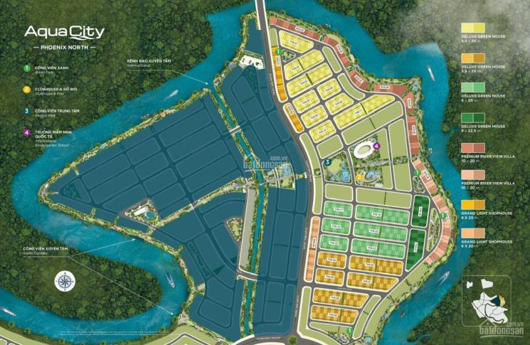 Bán nhà phố Aqua City Novaland Biên Hòa, chiết khấu và ưu đãi tốt nhất ảnh 0