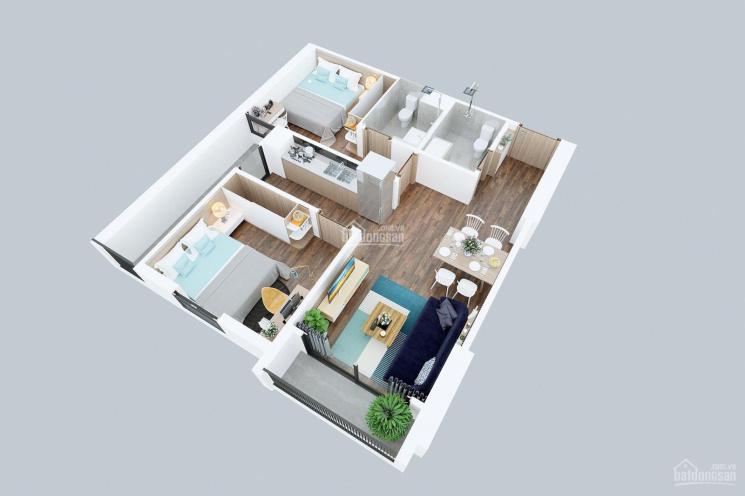 Bán cắt lỗ căn hộ 2PN góc đẹp tại dự án Geleximco 897 Giải Phóng. Bán gấp nên cam kết giá siêu tốt ảnh 0