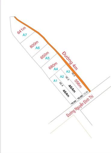 Tôi cần bán gấp lô đất mặt tiền đường Lang Biang, gần hồ Suối Vàng, diện tích 464m2, LH 0943559175 ảnh 0