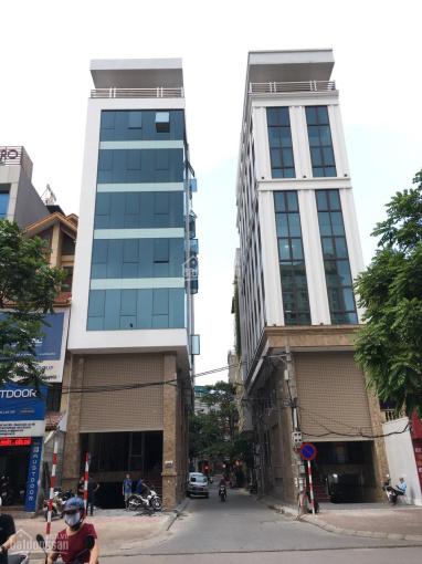 Cho thuê nhà mặt phố Khuất Duy Tiến, Thanh Xuân, HN. DT 150m2, 8T, 1 hầm nhà mới hoàn thiện xong ảnh 0
