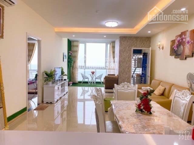 Cho thuê ở dài hạn căn hộ 2PN - 120m2, lầu cao view biển full nội thất tại Oasky(Sơn Thịnh) ảnh 0