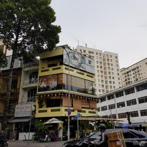 Nhà nguyên căn góc 2 mặt tiền đường Nguyễn Thái Bình, Q1, 5.2x20m, 3 lầu, trống suốt, 80tr ảnh 0