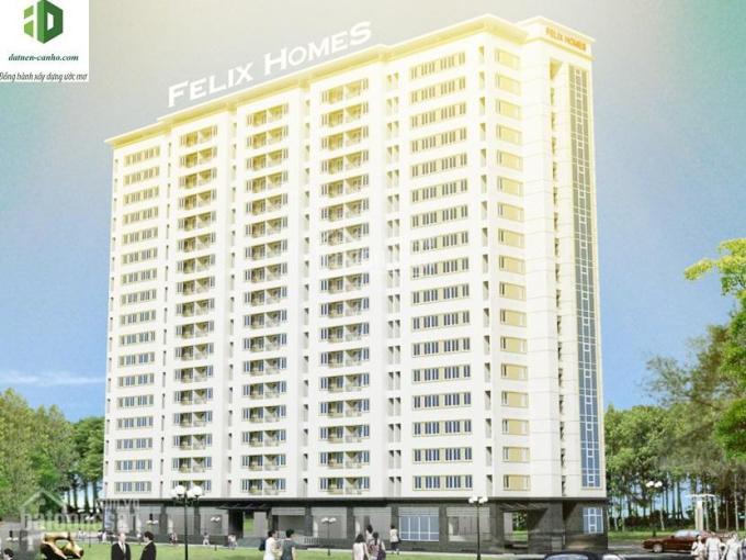 Hot! Cho thuê căn hộ Felix Homes 54m2, 2PN, 2WC nội thất cơ bản, căn góc, view sông mát mẻ, 7tr/th ảnh 0