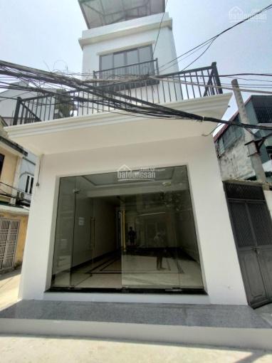 Cho thuê nhà phố Quang Trung, Hà Đông diện tích 80m2, 4 tầng, mặt tiền 4,5m thông sàn T1 giá 16tr ảnh 0