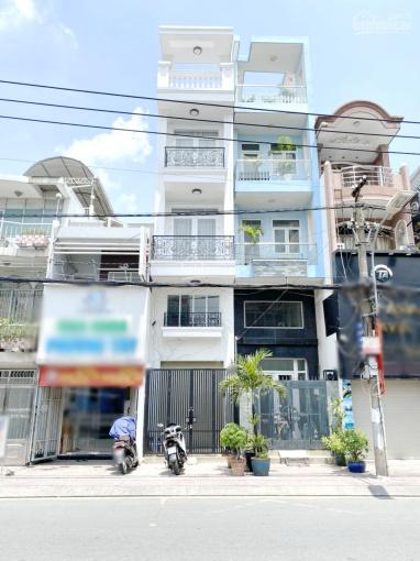 Nhà 42m2, 4 tầng, mặt tiền chính đường Hưng Phú P9 Q8 ảnh 0