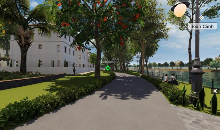 Bán biệt thự sông diện tích 550m2, 1 trệt 2 lầu, có khuôn viên vườn rộng, sông sau nhà, bãi đậu xe ảnh 0