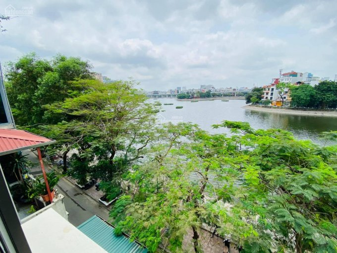Bán nhà mặt hồ Hoàng Cầu 55m2 - 5 tầng - vỉa hè 2 bên - KD - cafe - nhà hàng - oto tránh - 13.8 tỷ ảnh 0