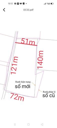 Bán lô đất xã Bông Trang, có 121m mặt tiền giá 44 triệu/m ngang gần khu đô thị Hồ Tràm, Xuyên Mộc ảnh 0