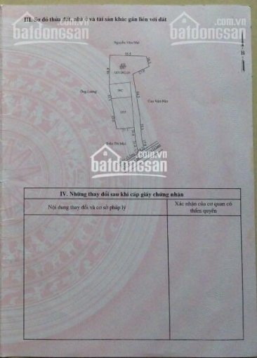 Chính chủ cần bán lô đất mặt tiền đường Lê Hồng Phong, phường Phú Thọ, thành phố Thủ Dầu Một Đường ảnh 0