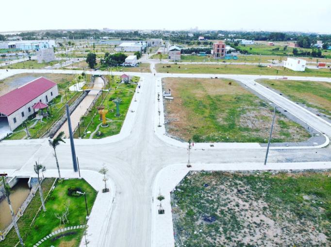 Bán đất mặt tiền QL50, khu dân cư Tân Kim, Cần Giuộc, Long An - 90m2 giá 850tr. LH 0356343288 Bảo ảnh 0