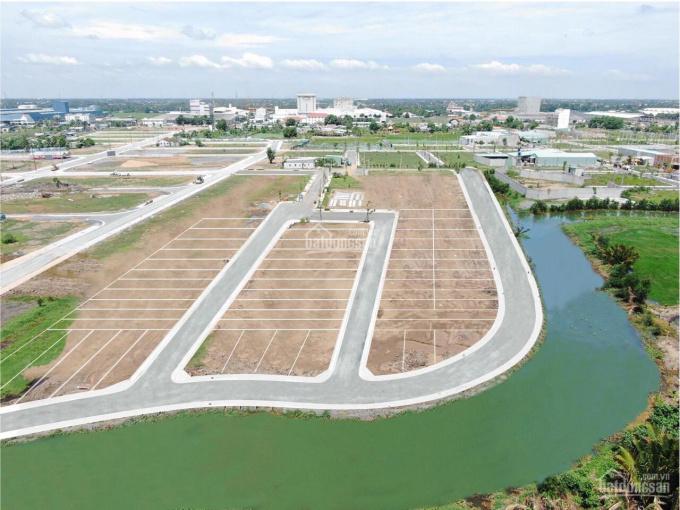 Đất nền view sông ngay KCN Tân Kim MT lộ QL50 sổ riêng công chứng ảnh 0