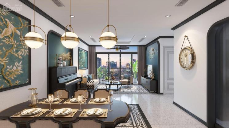 Căn hộ 2 phòng ngủ, chung cư cao cấp Discovery Central Trần Phú, Ba Đình, view quảng trường thoáng ảnh 0