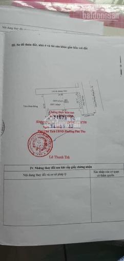 Mặt tiền kinh doanh Lê Hồng Phong, Phú Hòa sát phòng CC bà gái vị trí kinh doanh đắc địa DT 300m2 ảnh 0