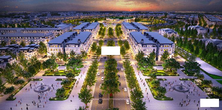 Bán LK4 view biệt thự giá ngoại giao đường 17m dự án Kim Chung Di Trạch, LH: 0964886697 ảnh 0