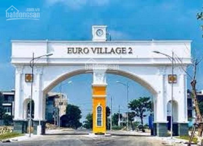 Cần bán đất biệt thự Euro Village 2, view công viên giá tốt ảnh 0