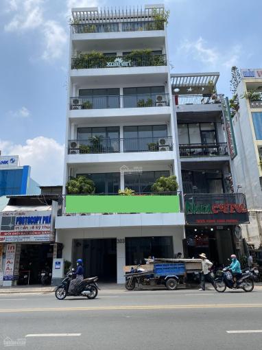 Cho thuê MT 303 Phan Đình Phùng, Phú Nhuận, 8.5x35m nở hậu 11m, 5L, DTSD: 1.400m2, giá 235 tr/th ảnh 0