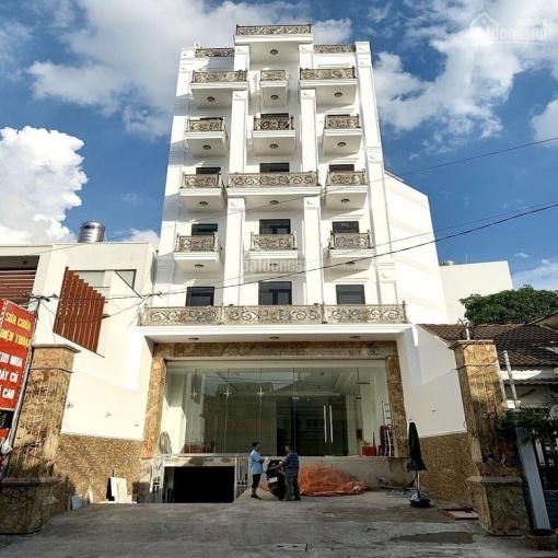 Cho thuê tòa nhà mới xây MT Phan Văn Trị - DT 9x22m, 8 tầng - Gần ngã 4 Nơ Trang Long ảnh 0
