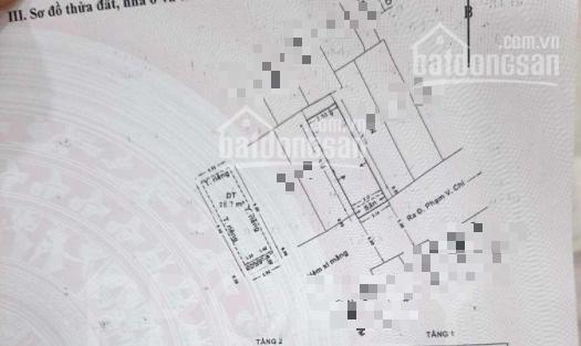 Nhà 2 lầu đường 5m Phạm Văn Chí, P7, Q6 30,4m2 SHR 3,7 tỷ ảnh 0