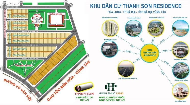 Đất nền Bà Rịa, cần bán đất Thanh Sơn, đối diện bệnh viện Bà Rịa, 138m2, giá 2.2 tỷ. LH: 0909063509 ảnh 0
