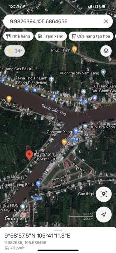 Bán nền mặt tiền lớn, thuộc xã Nhơn Ái, Phong Điền, TP. Cần Thơ ảnh 0
