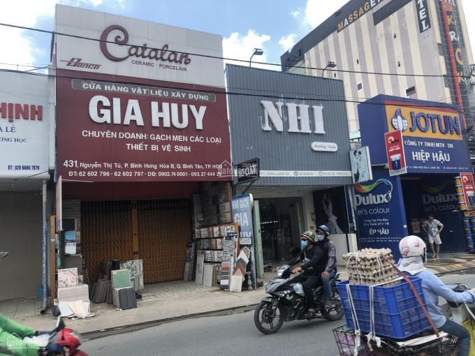 Cho thuê nhà nguyên căn mặt tiền 431 Nguyễn Thị Tú, P. BHH. B, Q. Bình Tân ảnh 0