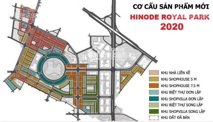 Hinode Royal Park Kim Chung Di Trạch mở bán liền kề 2 mặt tiền đường 33m, CK 6%, LS 0% 18 tháng ảnh 0