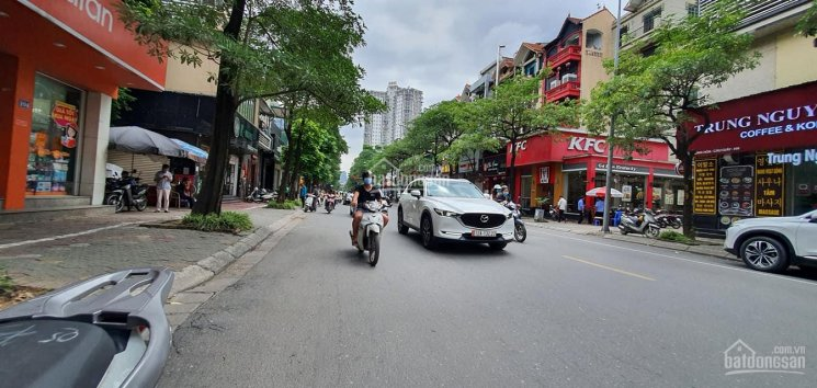 Cho thuê nhà MP Trung Hòa. DT 200m2 * 4T, MT 15m giá 155,827 triệu/tháng ảnh 0