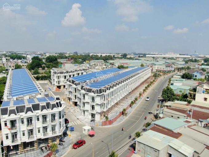 Bán dãy nhà phố, shophouse ngay trung tâm TP Dĩ An, gần Vincom, sổ riêng, ngân hàng hỗ trợ đến 70% ảnh 0