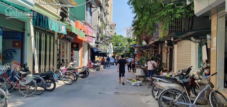 Nhà mặt ngõ to như phố đường Hoàng Văn Thái Thanh Xuân 45m2 4 tầng lô góc ô tô vào nhà giá 6.4 tỷ ảnh 0