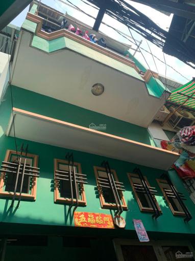Nhà bán ba sẹc Nguyễn Văn Luông, Quận 6, 1 trệt 1 lửng 1 lầu, khu dân cư hiện hữu ảnh 0