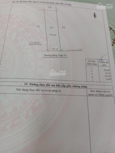 Bán đất thổ cư mặt tiền đường Hồng Thập Tự - thành phố Long Khánh (gần UBND P. Xuân Trung) ảnh 0