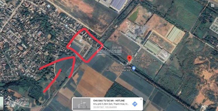 Bán lô liền kề mặt đường Trần Hưng Đạo gần đền cô Chín Bỉm Sơn ảnh 0