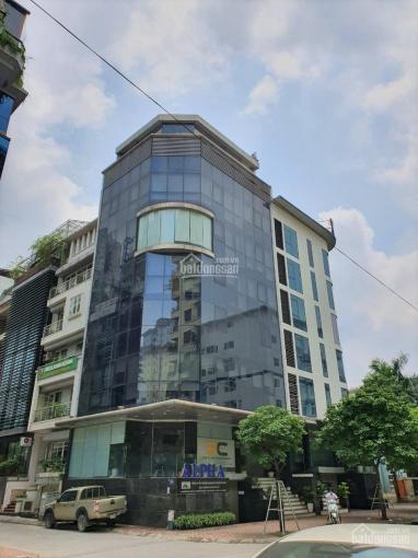 Cho thuê nhà căn góc phố Hàng Bún Ba Đình DT 100m2 8T 1H MT 16m nha khoa thẩm mỹ viện giá 230tr ảnh 0