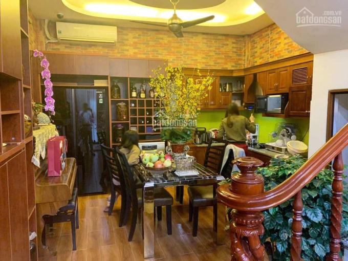 Cho thuê nhà Nguyễn Khoái, 42m2x4T, 4PN full đồ, 10tr/th ảnh 0