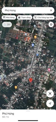 Chính chủ bán lô đất góc 5x18 hẻm ô tô đường Nguyễn Huệ Phường Phú Khương TP Bến Tre Tỉnh Bến Tre ảnh 0