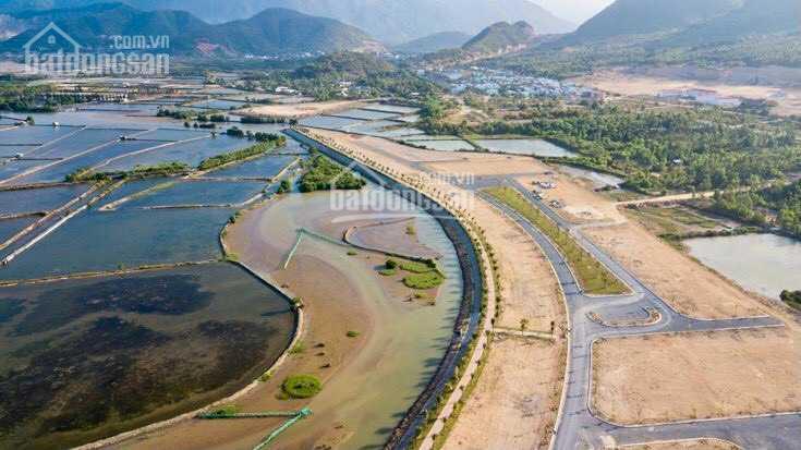 Cần bán lô duy nhất mặt tiền khu biệt thự Sông Tắc mặt sông giá 19 triệu/m2 ảnh 0