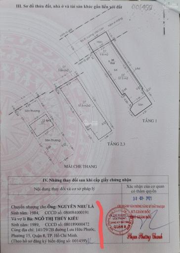 Bán nhà hẻm SHR, diện tích 79.8m2; 3 lầu 4 phòng ngủ, 2 sân thượng trước sau; đường Lương Văn Can ảnh 0