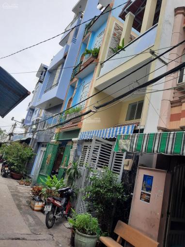 Nhà hẻm xe tải 6m Trương Phước Phan DT 4x13.4m=53m2, 1 trệt 2 lầu giá 4,4 tỷ ảnh 0