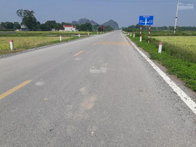 Bán lô đất nền 125m2 đầu ve mặt đường mở rộng 42m, TT Quán Lào, Thanh Hóa, MT 5m, giá 1.7 tỷ ảnh 0